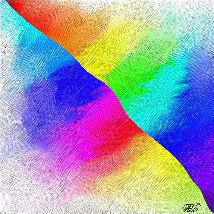 Abstract Rainbow Wallpapers