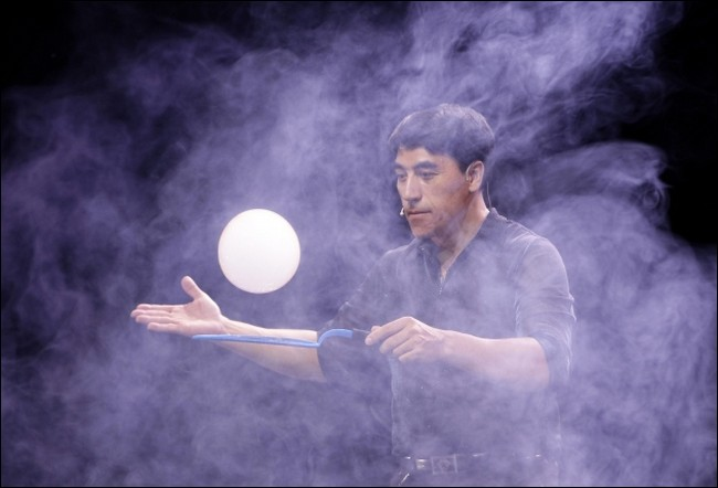 Amazing bubble guy
