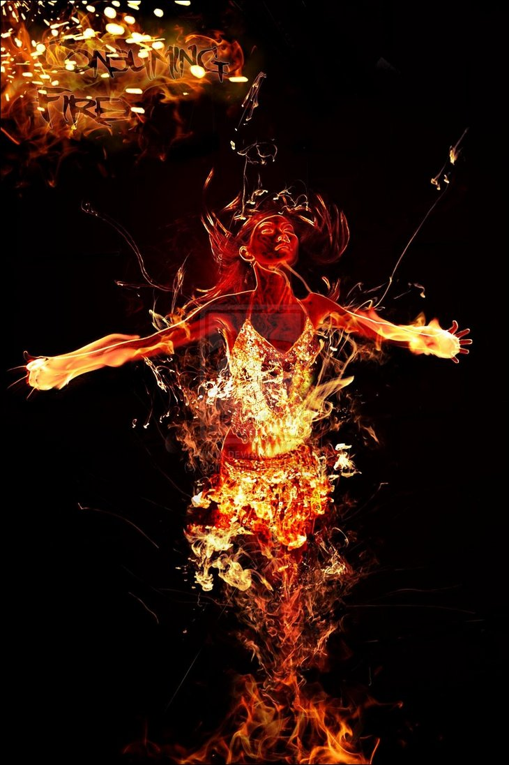 Fire and Photoshop