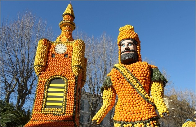 Lemon Festival in France