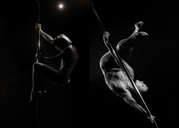 El arte del baile en tubo