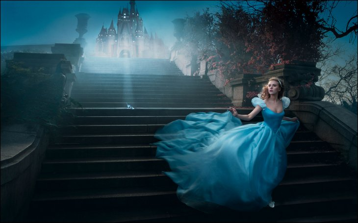 annie leibovitz photos that brought fairy tales to life