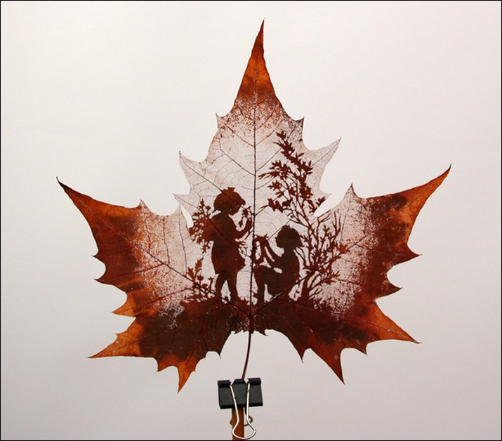 Leaf Carving