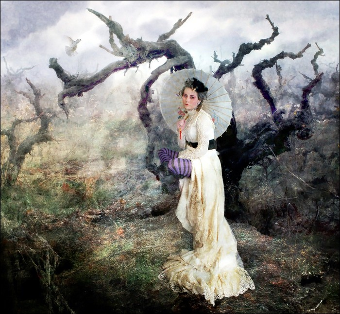 Photomanipulations Romantik