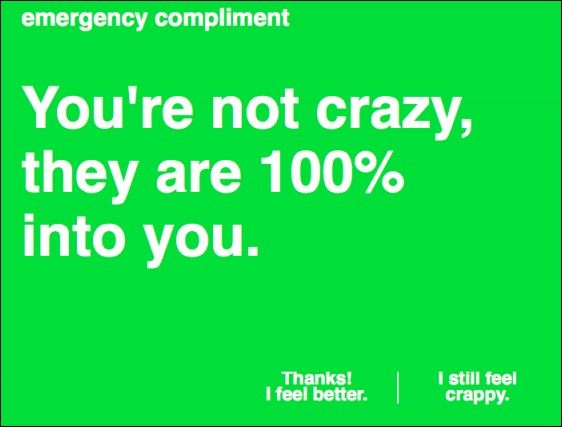 Emergency Compliments
