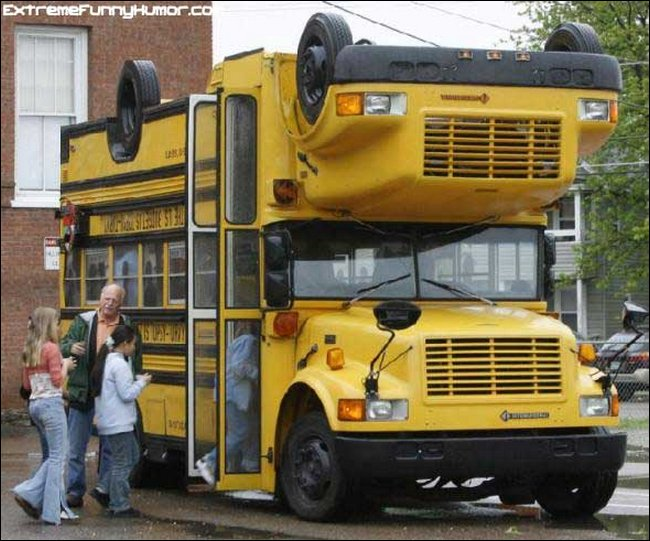 Funny Bus Images