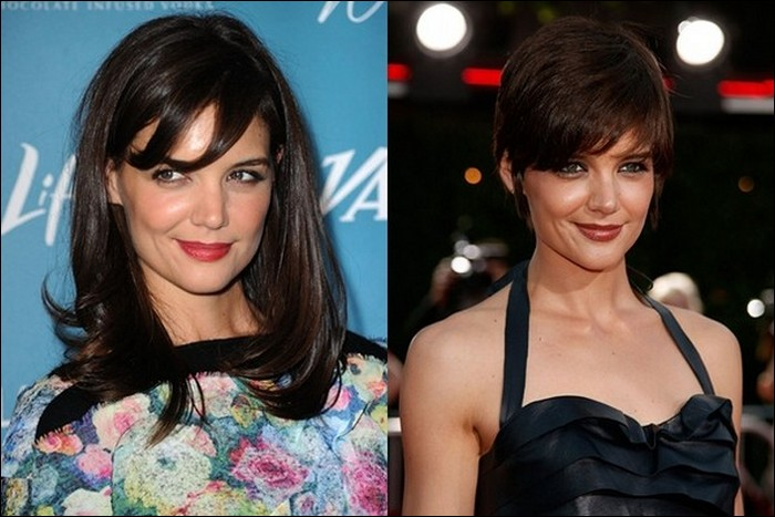 Shocking celebrity hairstyle transformations
