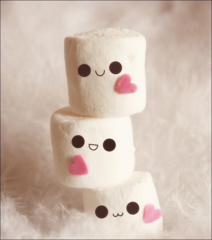 Cute little marshmellows