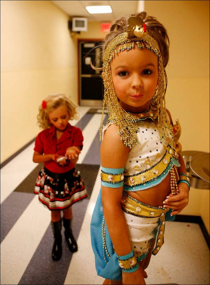 Child Beauty Pageants: Stolen Childhood