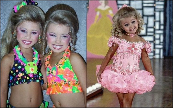 Little Swimwear Beauty Pageant in Children