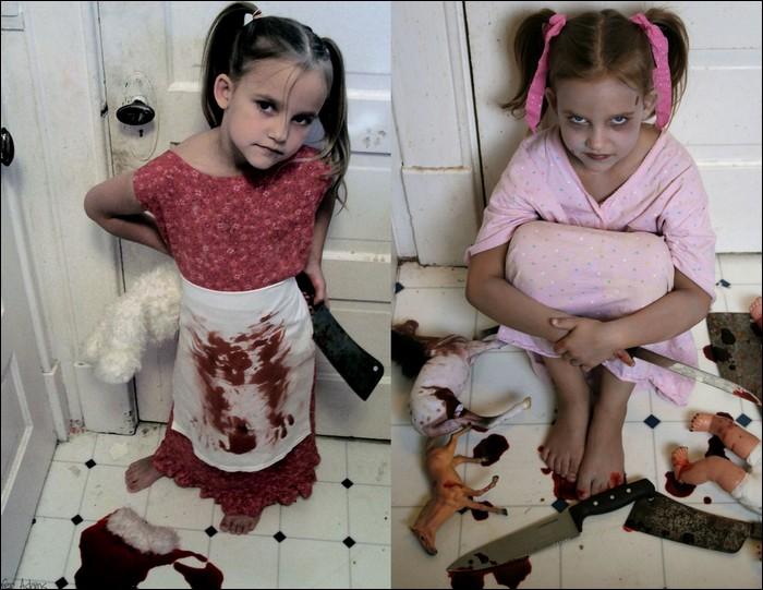 Dark & creepy kids