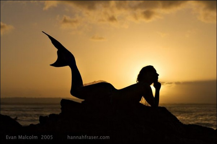 Hannah Fraser mermaid