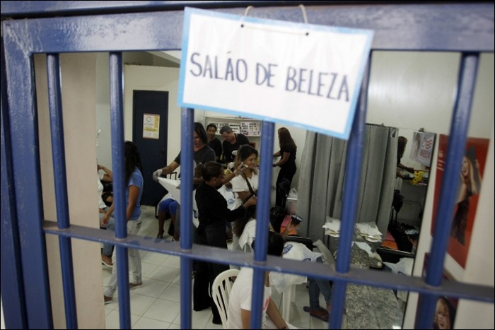 The Brazilian Prison Beauty Contest