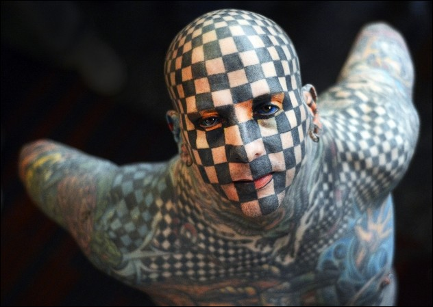 Man - Checkerboard