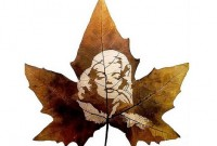 Leaf Carving: Art that comes with Autumn