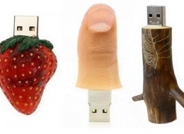Unique collection of the funniest, most original and weirdest USB sticks