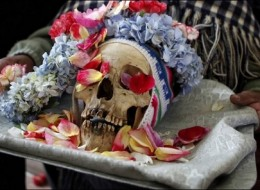 The Day of the Skulls celebration in Bolivia