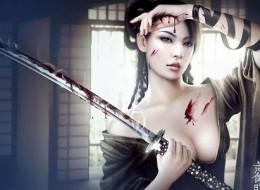 Gorgeous fantasy dark warriors