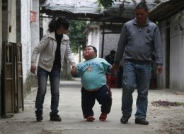 Four year old boy weights over 130 pounds!