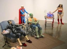 Retired Superheroes at nursing home