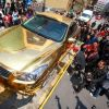 Golden Car: Wanna take a ride?