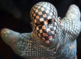 Checkerboard Man