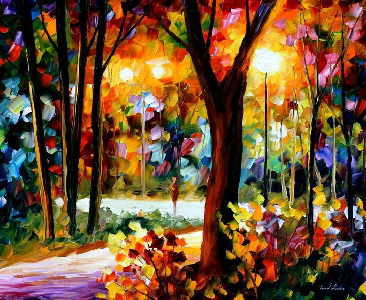 leonid afremov031 Leonid Afremov: One of the Most Colorful  Painters Ever