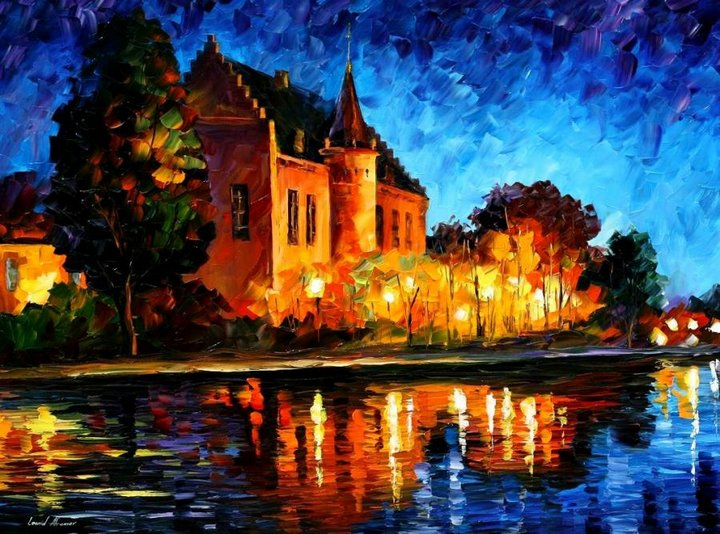 leonid afremov061 Leonid Afremov: One of the Most Colorful  Painters Ever