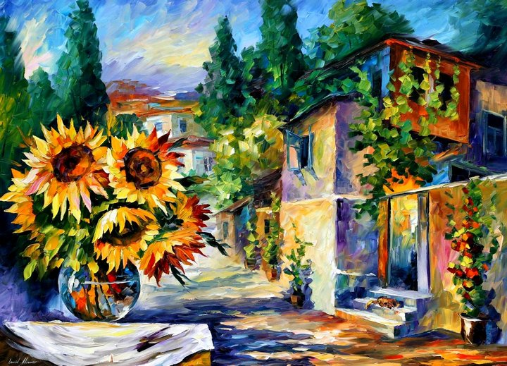 leonid afremov101 Leonid Afremov: One of the Most Colorful  Painters Ever