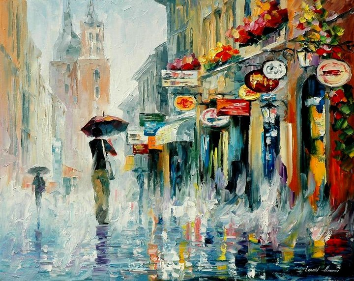 leonid afremov131 Leonid Afremov: One of the Most Colorful  Painters Ever