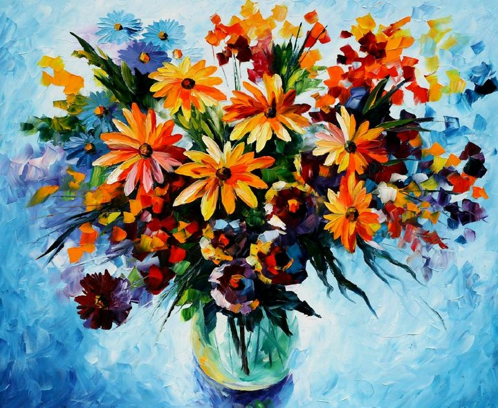 leonid afremov161 Leonid Afremov: One of the Most Colorful  Painters Ever