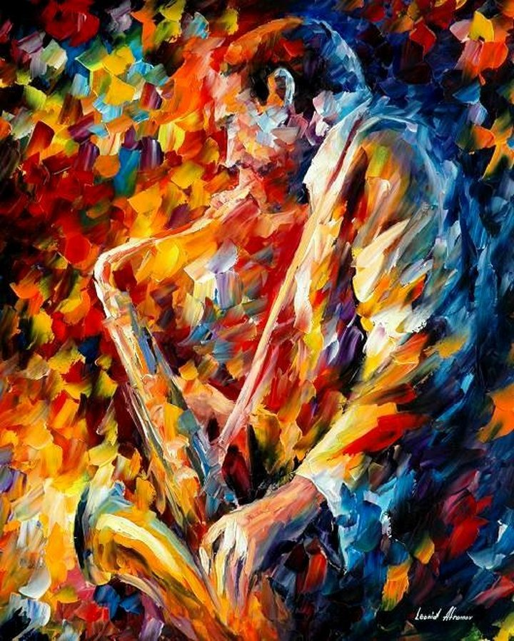 leonid afremov171 Leonid Afremov: One of the Most Colorful  Painters Ever