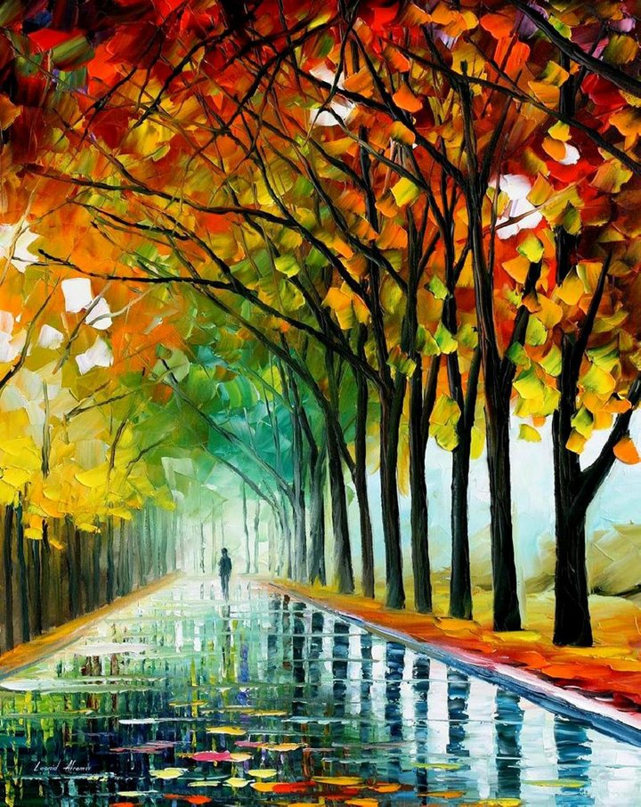 leonid afremov181 Leonid Afremov: One of the Most Colorful  Painters Ever