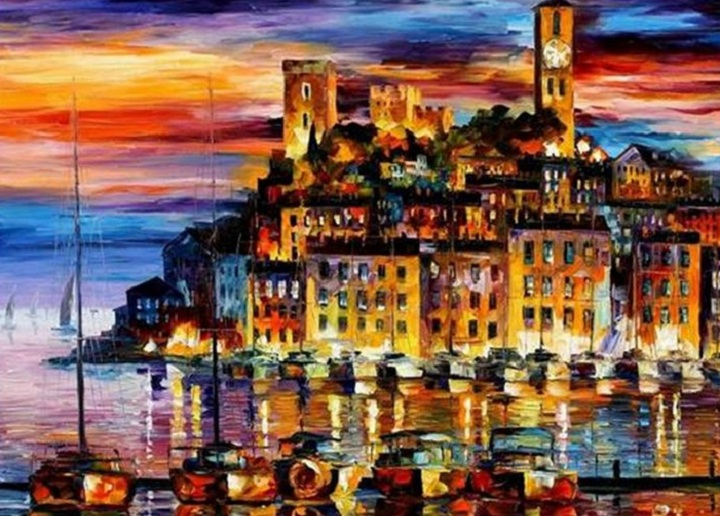 leonid afremov191 Leonid Afremov: One of the Most Colorful  Painters Ever