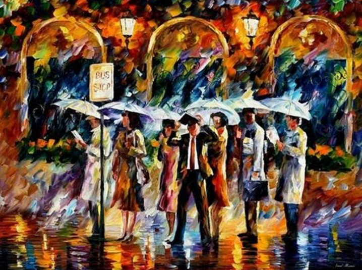 leonid afremov222 Leonid Afremov: One of the Most Colorful  Painters Ever