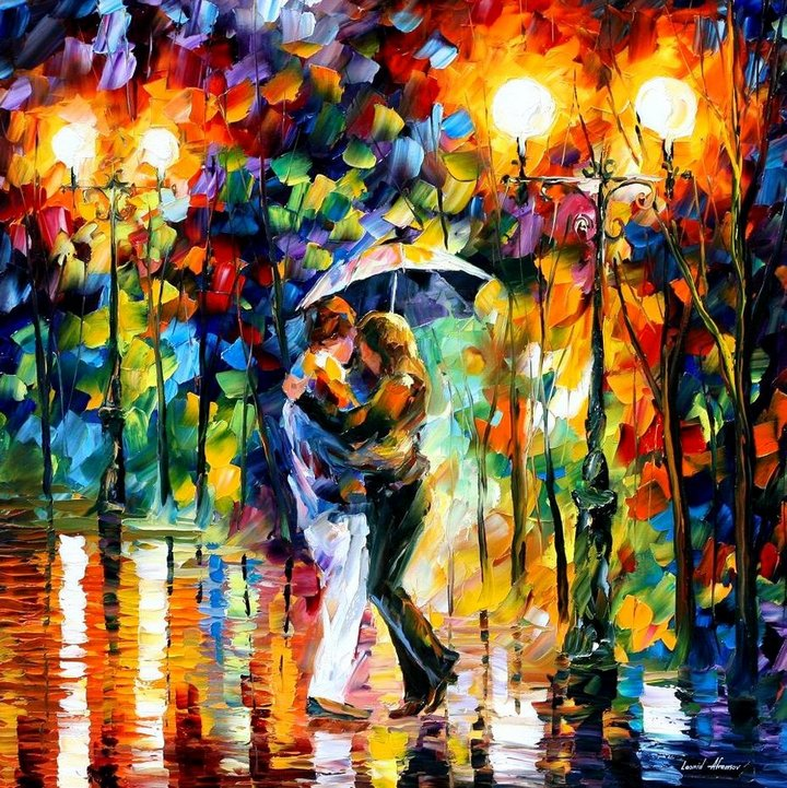 leonid afremov251 Leonid Afremov: One of the Most Colorful  Painters Ever