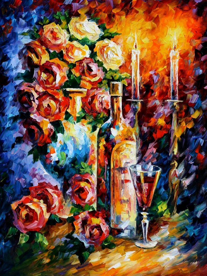 leonid afremov261 Leonid Afremov: One of the Most Colorful  Painters Ever