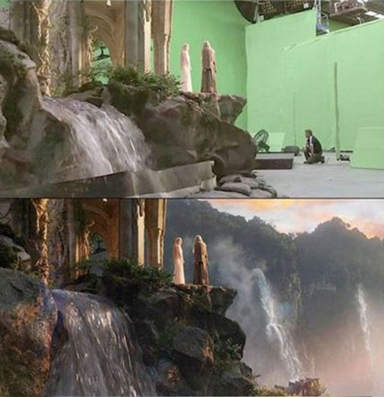 How Movies Look Without Visual Effects Fun News