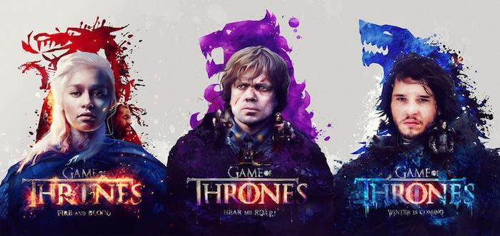 Resultado de imagem para game of thrones daenerys jon snow and tyrion